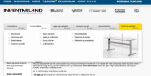 Inventarland tabuleret indhold